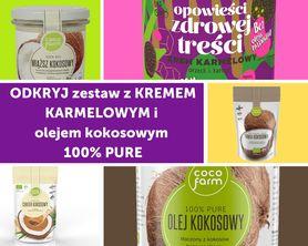 Zestaw do naleśników z kremem karmelowym i olejem kokosowym 100% PURE