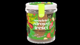 krem orzechowy cukier kokosowy z cukrem kokosowym wegański bez latozy keto paleo zdrowa nutella
