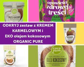 Zestaw do naleśników z kremem karmelowym i EKO olejem kokosowym ORGANIC PURE
