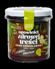 zdrowa nutella krem z cukrem kokosowym wegański krem krem z orzechów masło orzechowe